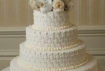 Tortas de novia.