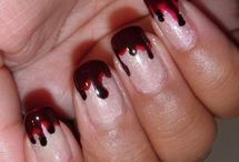 Nails / Rockabilly, psychobilly and neo vintage nail art