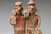 Ancient figures, masks and plaques / by Luz Morales