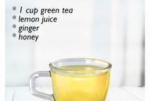 Detox drinks/tea
