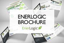 Enerlogic Window Film Brochure  / Revolutionary Glass Insulation The World's Most Awarded Window FIlm Gold Plus Global Green Tag Certified