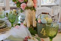 Spring tablescapes / by Heather Wilmore