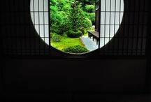 View of dreams -Circular window 丸窓 / Landscape becomes more than itself when it framed. It is quiet, but impressive than ever.