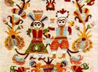 folk textiles,fabrics and embroidery