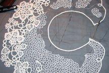 Romanian point lace, Tatting, et al / by Amanda M Stevenson