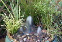 zahrada - vodní prvky
