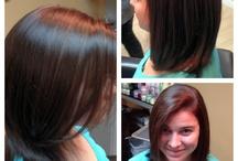 My work/ hairstylins