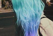 Cheveux de couleur <3