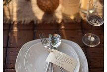 Sur la Table / Table settings, ideas for a memorable evening. / by Ginger Hilgenberg