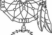 Indiáni / materiály na školu v přírodě