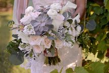Lacey / Mobberly  White and mint peach blush and antique pink