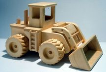 Wood vehicles