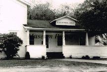 Vintage Blair Memorial Library