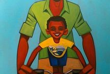 Father and son art
