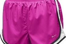 Running Shorts/nikes<3