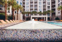 Pools with Water Features