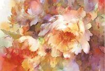 cd.植物画.花アナログ