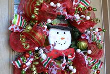 Wreaths / geo mesh wreaths
