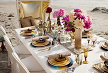 Bridal Registry & Wedding / A perfect union of sumptuous tablescapes and beautiful entertaining inspiration for the big day and wedding gift ideas for the bridge and groom