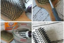 nettoyer brosse a cheveux