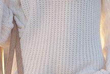 Inspirace outfity - bílý svetr