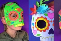 Day of the dead / Art activity for children and Halloween