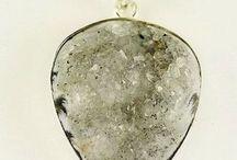 Semi precious stone pendants UK