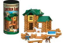Lincoln Logs Building Sets / by K'NEX Brands