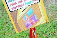 phineas and ferb 5th birthday