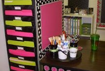 Organization- Speech Room / Ideas to decorate and organize your therapy room/office