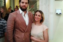 Lucky ladies with Henry Cavill in Rome Italy 2015 / Henry Cavill at The Man From U.N.C.L..E. press event in Rome,Italy 9.5. 2015