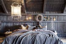 Sovrum i stugan