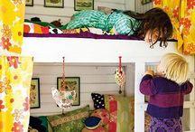 Indretning - Børneværelse / Ting der er praktisk og sjov, kan leges med og praktisk