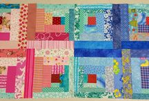Rainbow Scrap Challenge 2015 / All of the myriad of blocks and projects I'm making this year for the Rainbow Scrap Challenge 2015.