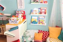 baby reading corner ikea hack