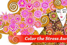 De-Stress the Unrest / What do you do when you're stressed and you just need to relax? COLOR! Adult Color Books are what this board is all about.   http://www.gohastings.com/browse/BOOK/Ns/p_sortdate|1/Ne/2455/N/2456+4294929356/departmentName/BOOK.uts  / by Hastings Entertainment