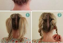 easy one (hair styles)
