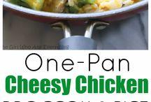 Chicken broccolli rice