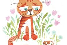 Ilustratii cu pisici
