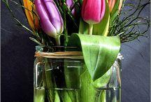Blumen Deko ♥