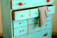 Turqoise furniture