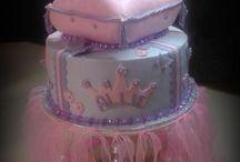 Princess - Queen Cakes