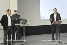 """Conférence """"Quelle stratégie et quels outils web pour trouver un emploi, un stage"""" / by christophe blazquez"""
