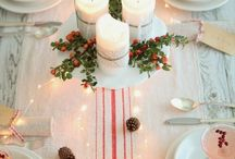 NAVIDAD / Mesas y decoración navideña