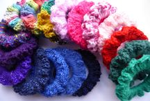 My crochet accessories  / Items I've designed, make & sell