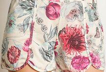 Shorts e Macaquinhos