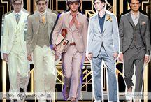 Great Gatsby Style Revival - pánové / Inspirace pro svatební hosty - připravuje se/under construction do/until 21.8.