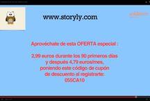 Lectura infantil / Storyly.es es una nueva plataforma de lectura infantil on line para niños de entre 3 y 9 años.