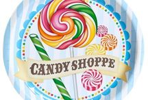 Candy Shoppe Party / Every kid loves candy, and we love this classic candy shoppe theme!