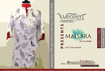 Exhibitions at Weavers Studio / Different designers; ONE STOP